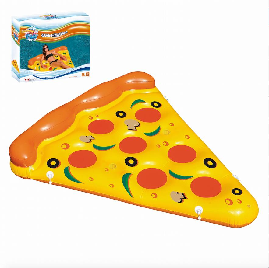 COLCHAO INFLAVEL PIZZA 175X130CM