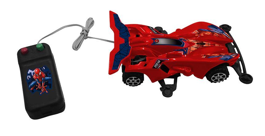 CARRO CONTROLE C/FIO SPIDERMAN