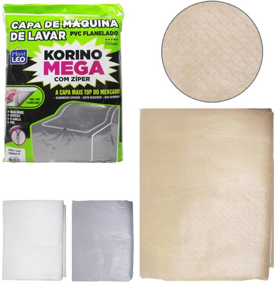 CAPA DE MAQUINA PVC KORINO C/ZIPER M