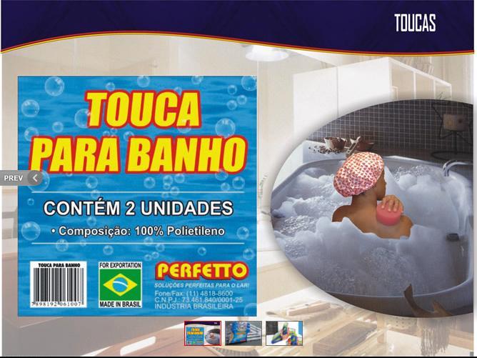 TOUCA BANHO C/2 UN
