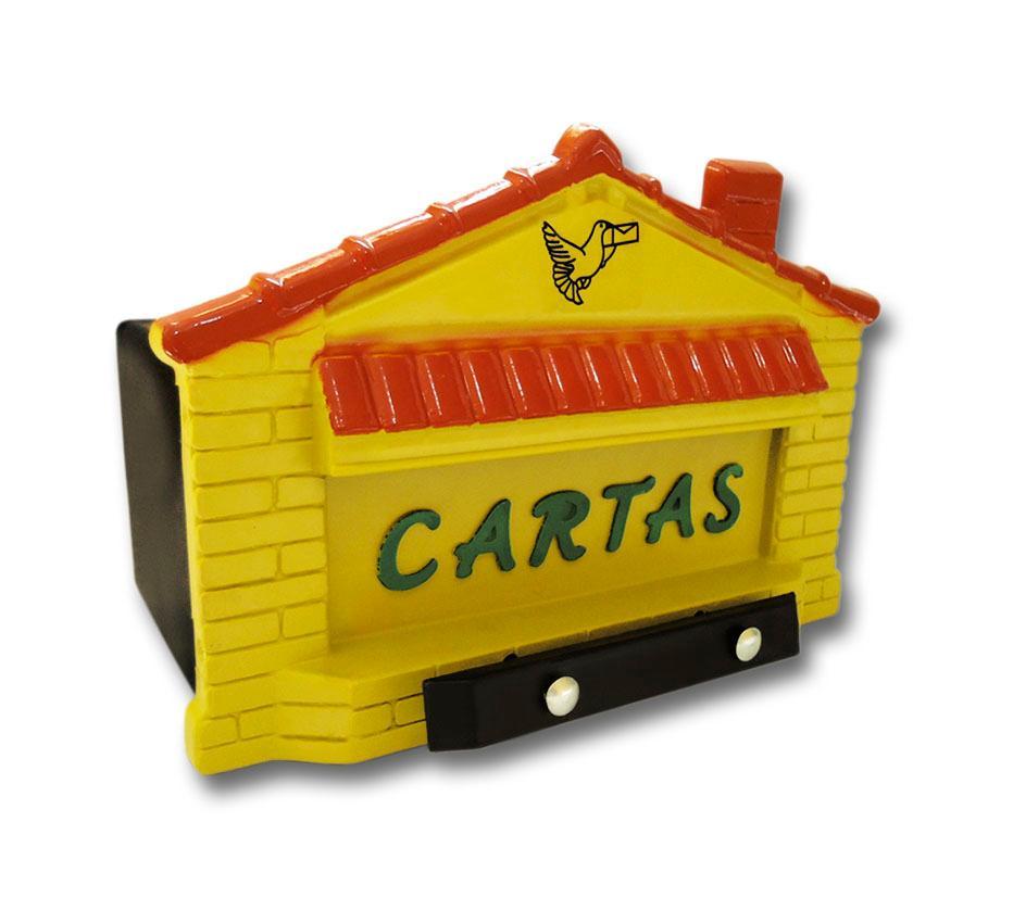 CAIXA CORREIO CASINHA AMARELA