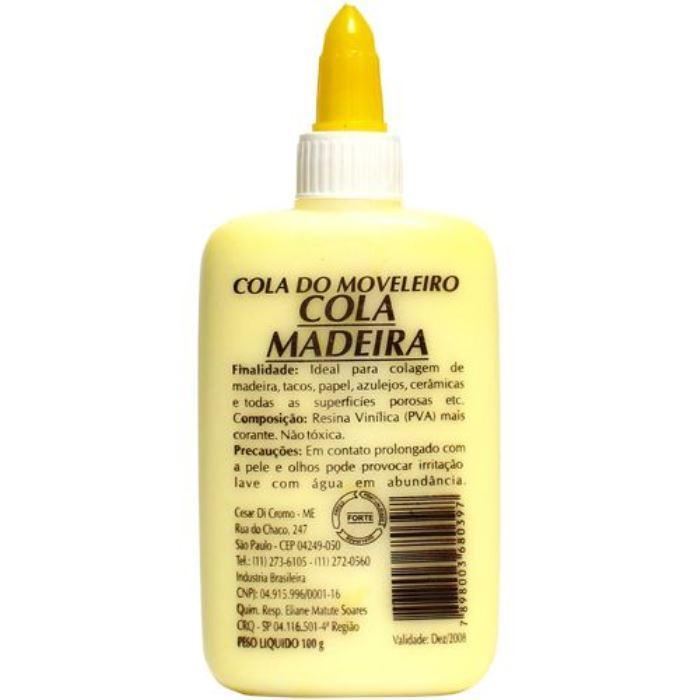 COLA DE MADEIRA