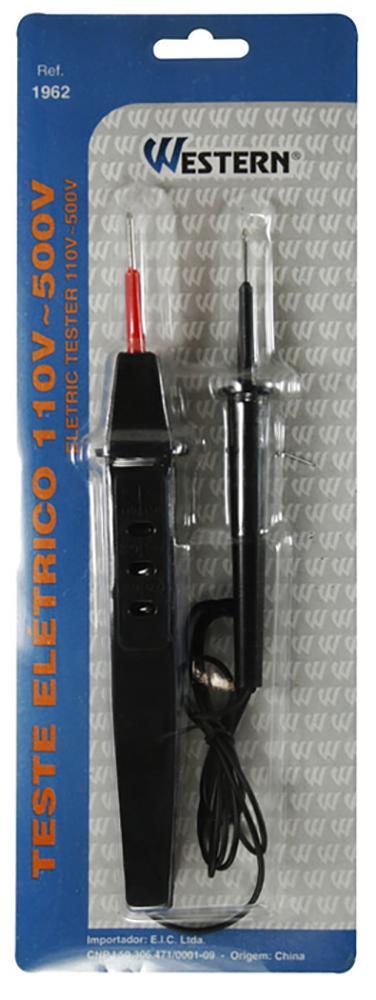 TESTE ELETRICO 110-500V