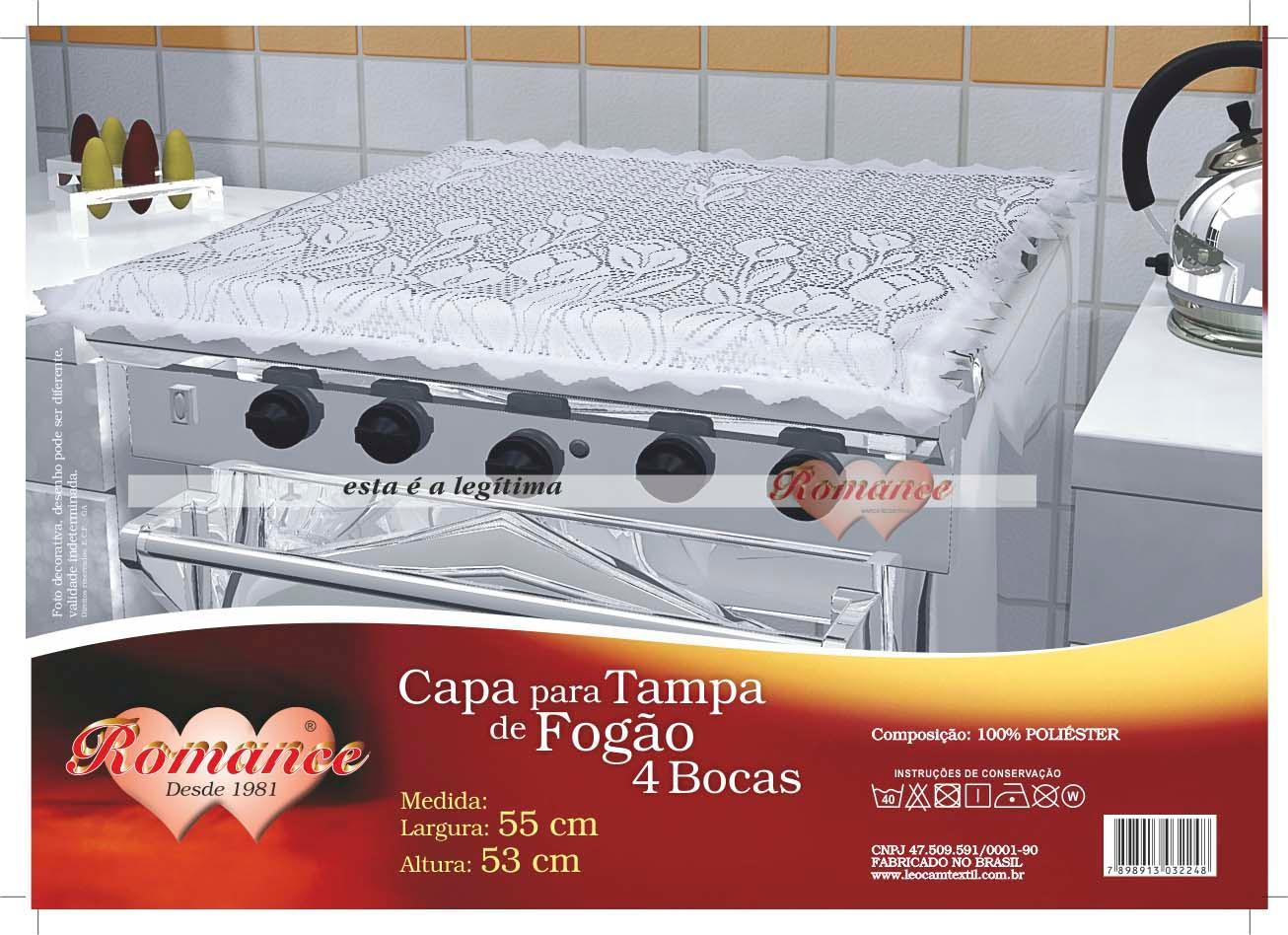 CAPA P/TAMPA FOGAO 4 BOCA