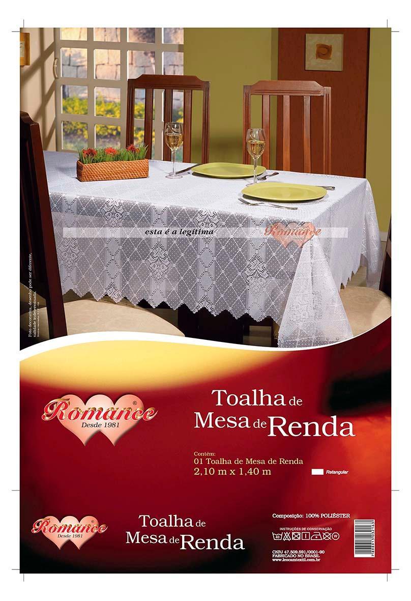 TOALHA MESA RENDA RETANG.2,10MX1,40MT
