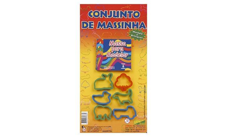 CONJUNTO DE MASSINHA
