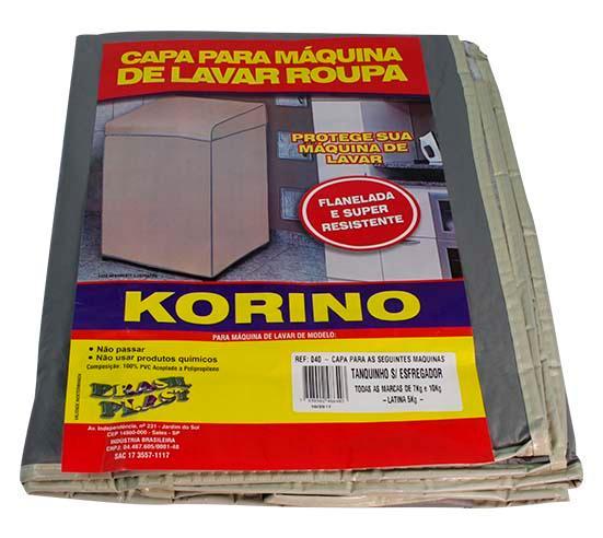 CAPA FLANELADA TANQUINHO S/ESFREGADOR