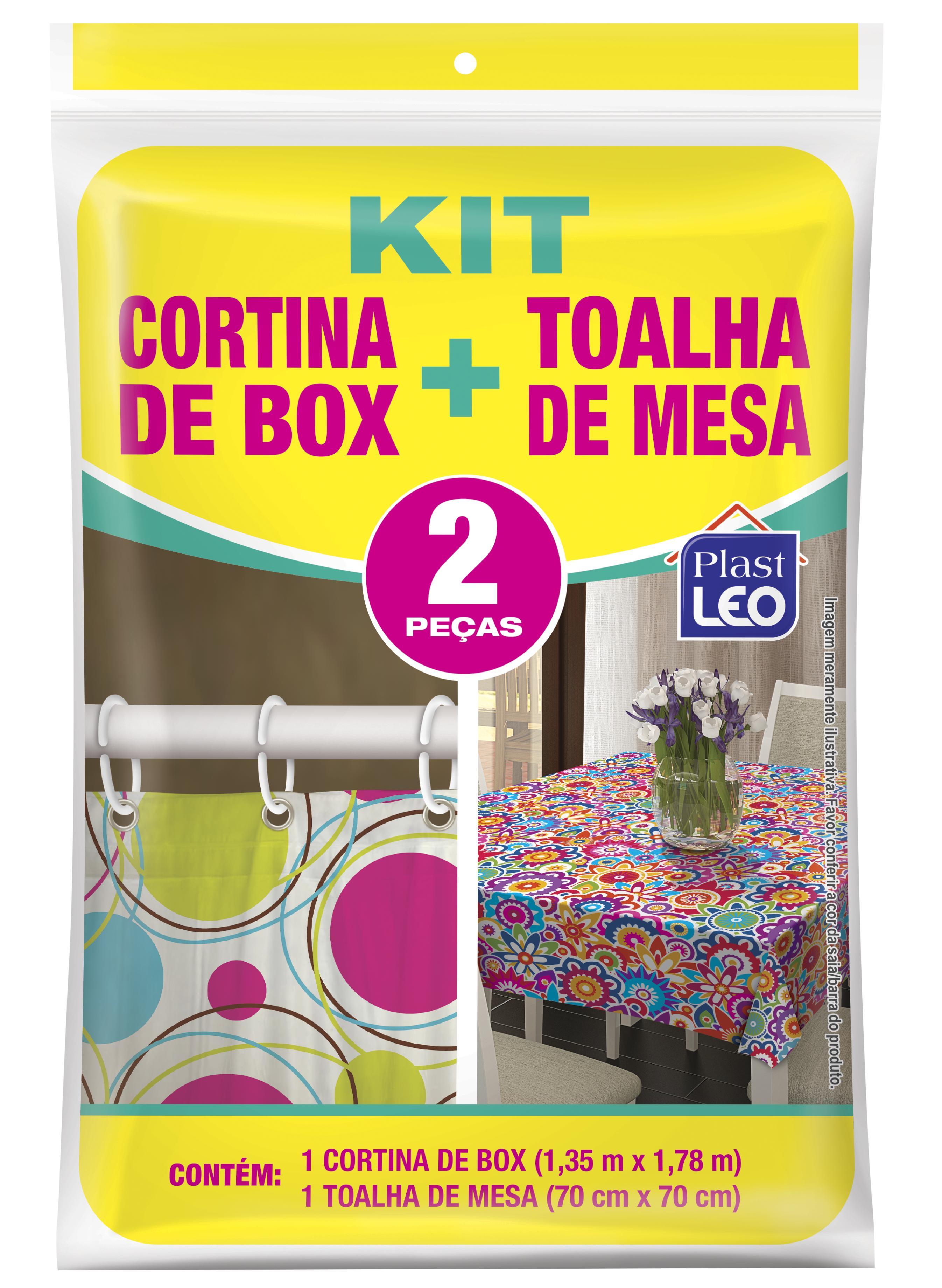 KIT CORTINA BOX