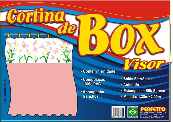 CORTINA BOX VISOR BORBOLETA