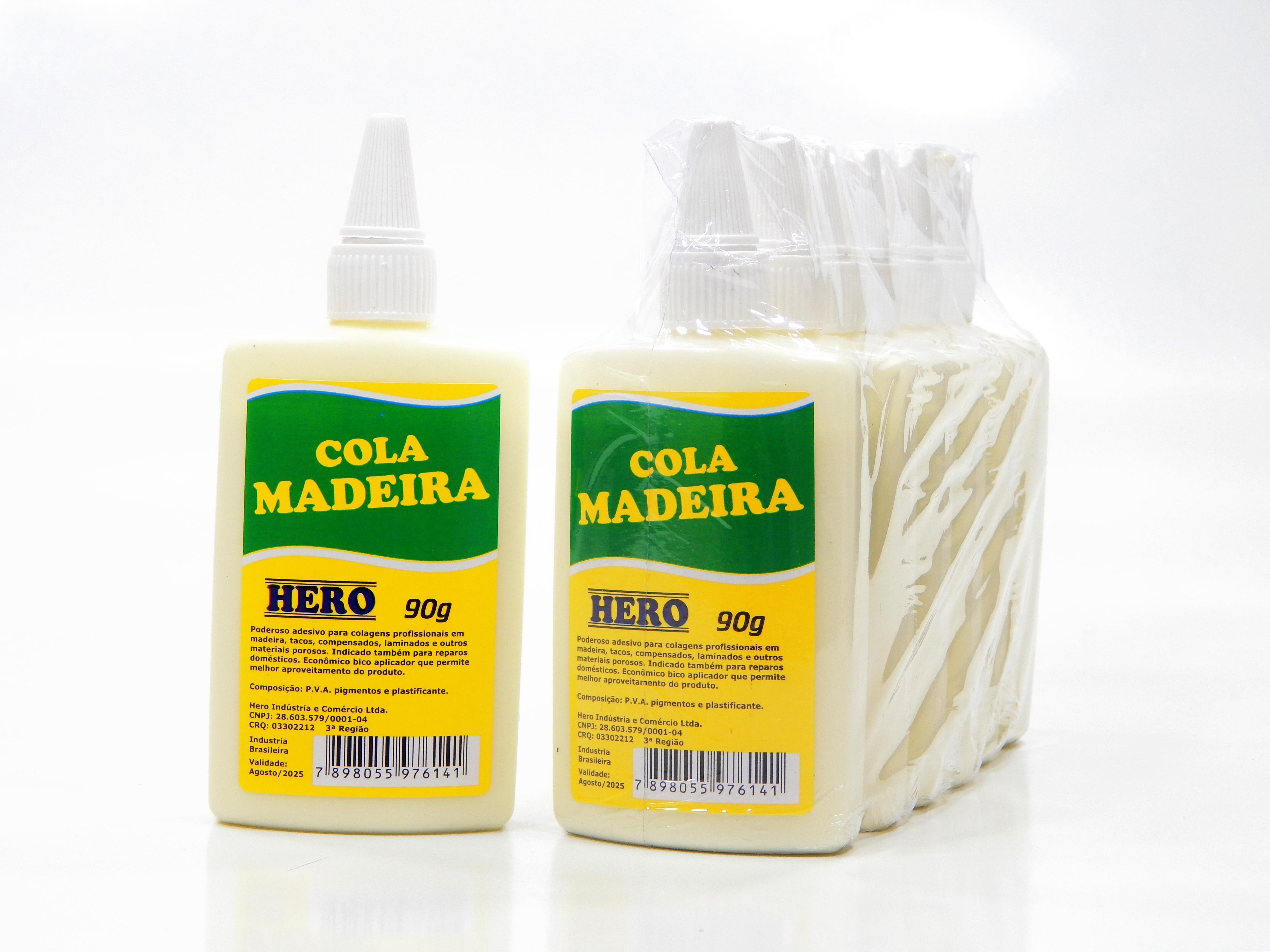 COLA MADEIRA 90GR C/6 UN