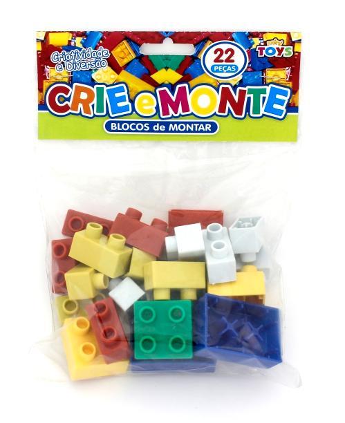 CRIE E MONTE C/22 PCS