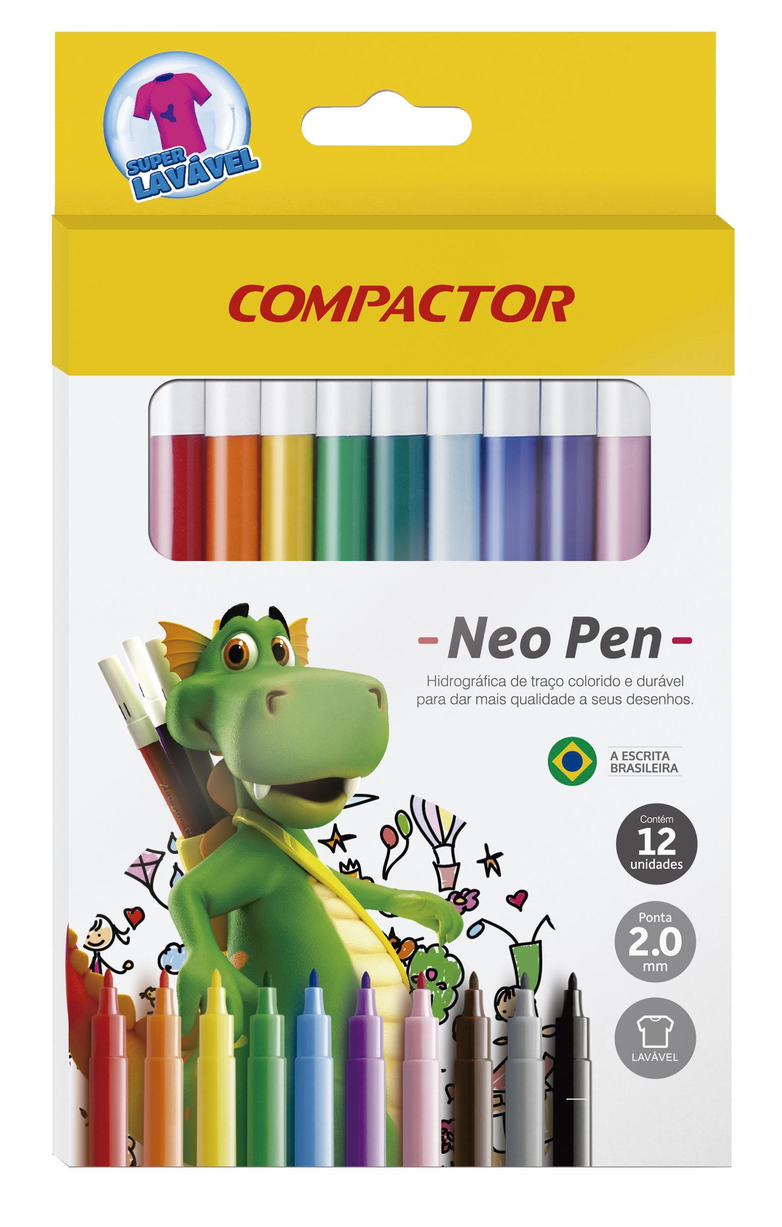 COMPACTOR NEON PEN GIGANTE C/1 UN