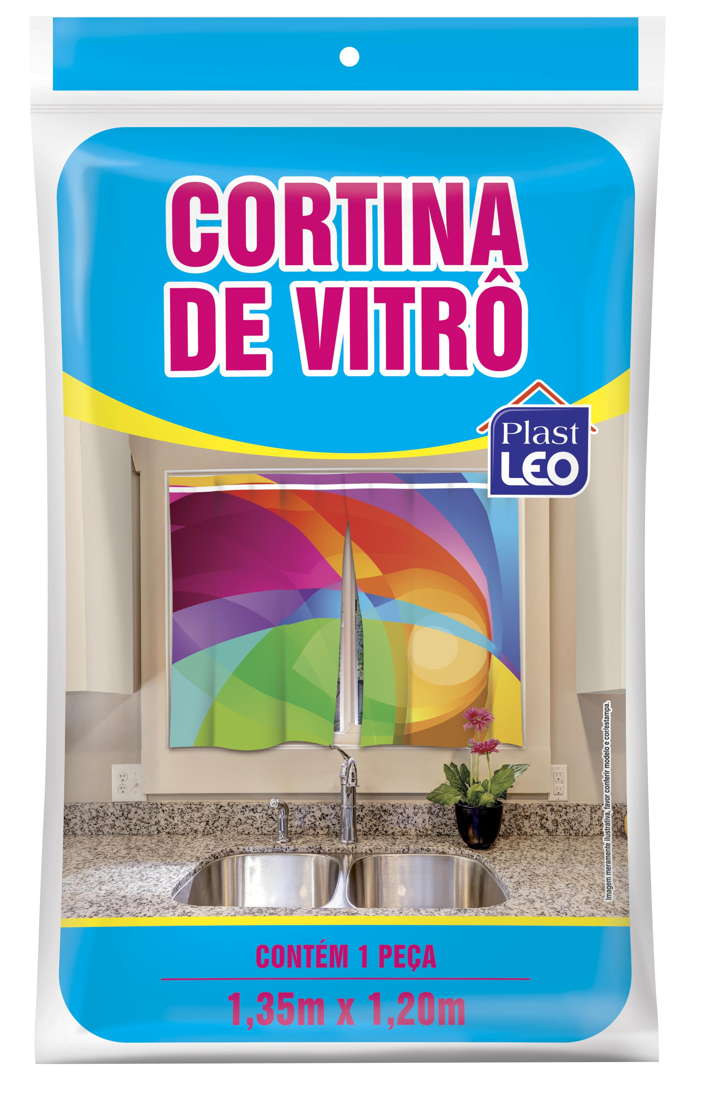CORTINA VITRO ESTAMPADA