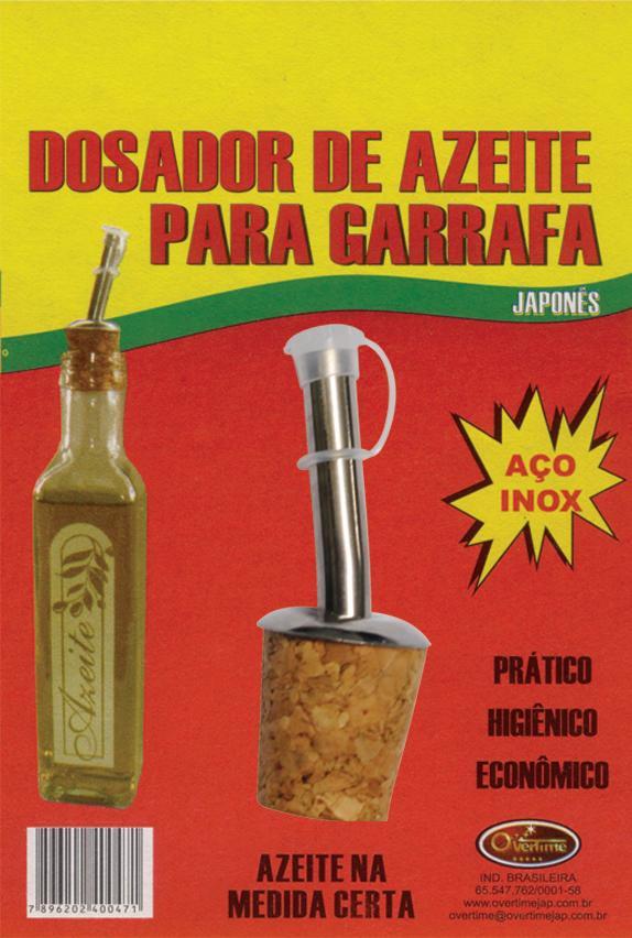 DOSADOR AZEITE P/GARRAFA