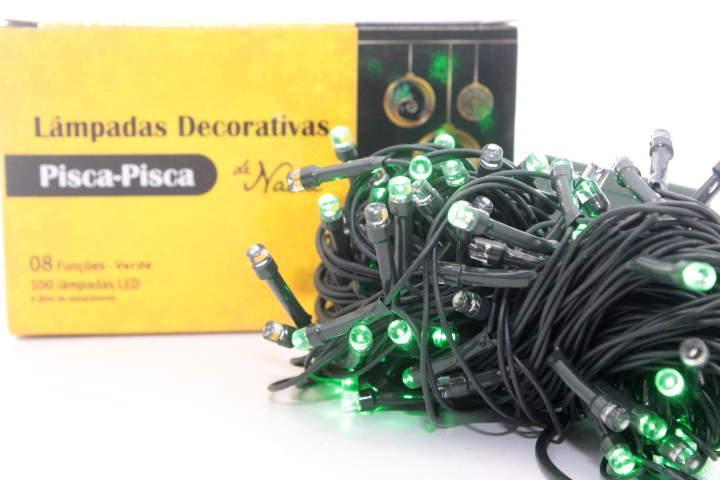 PISCA PISCA LED 100L COLORIDAS 220V