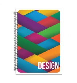 CADERNO UNIVERSITARIO 96FLS FLEXIVEL