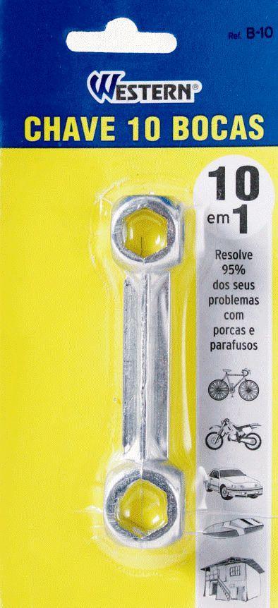 CHAVE BIKE  BOCA 10X1