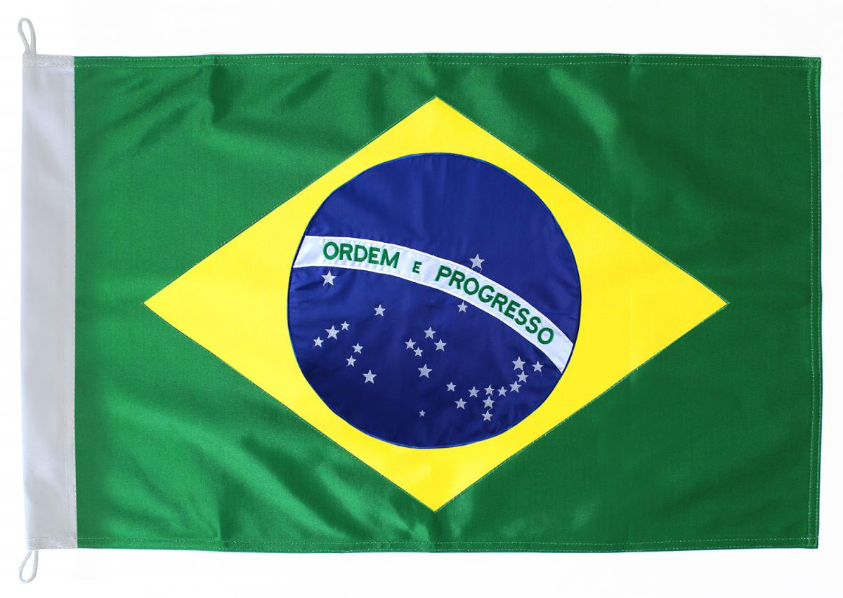 BANDEIRA BRASIL 90X60CM  C/1 UN
