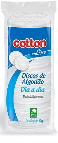 ALGODAO FACIAL DISCO DIA A DIA 37GR