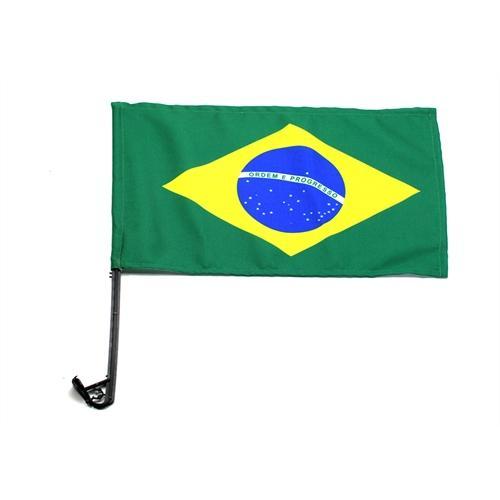 BANDEIRA BRASIL C/HASTE C/12 UN