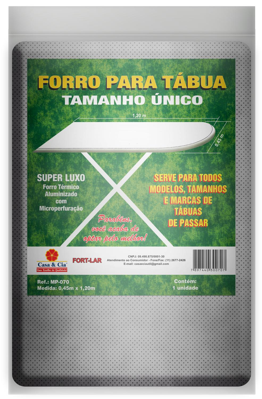 FORRO TERMICO MET. STD 0,45X1,20M
