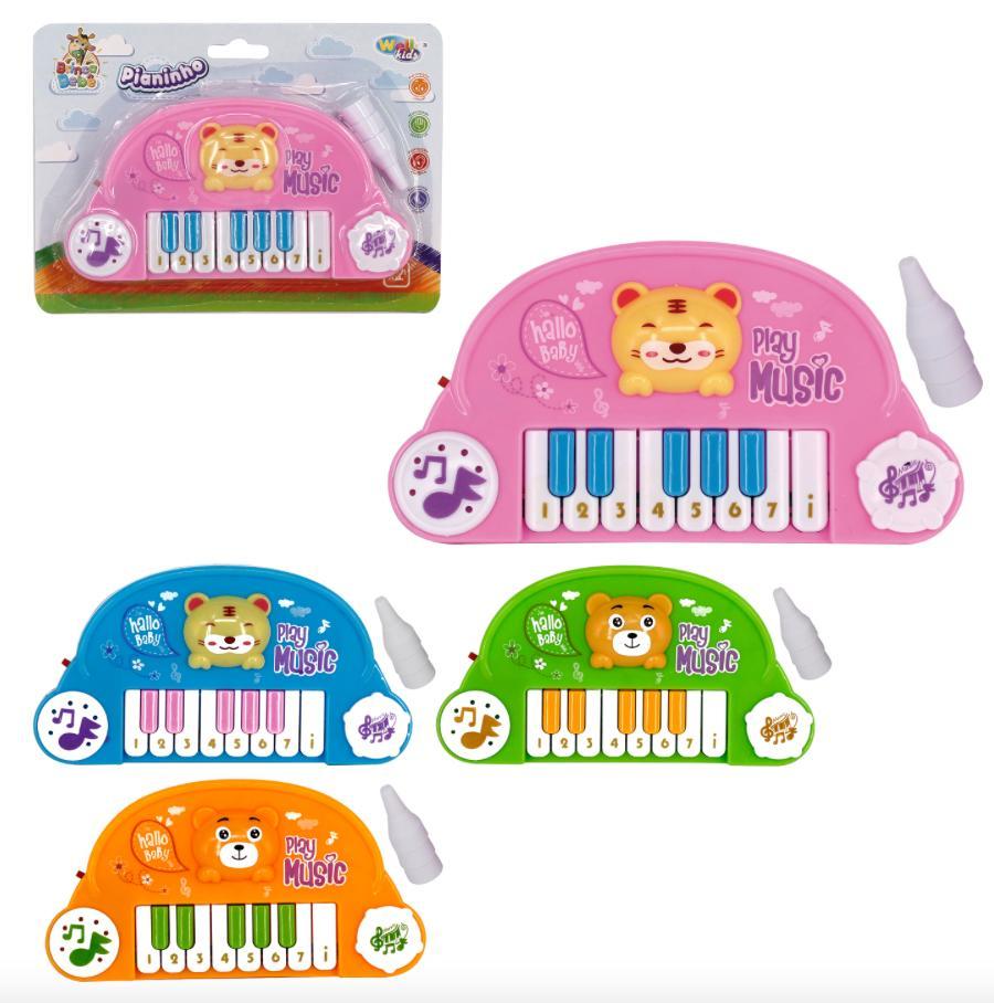 PIANO BABY C/PEZINHOS