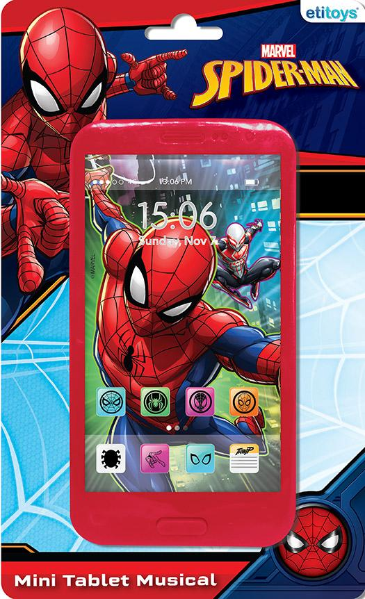 MINI TABLET MUSICAL SPIDERMAN